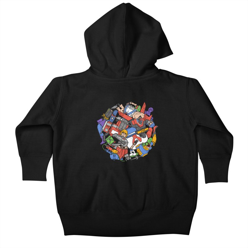 The Toy Box Kids Baby Zip-Up Hoody by Daniel Stevens's Artist Shop