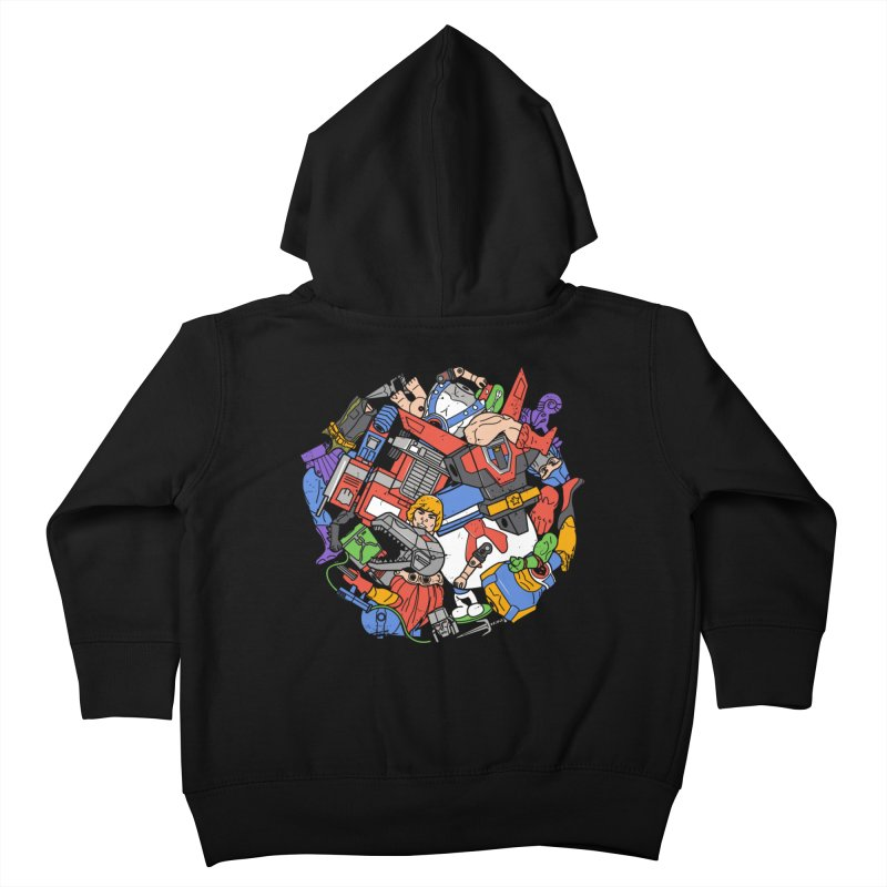 The Toy Box Kids Toddler Zip-Up Hoody by Daniel Stevens's Artist Shop