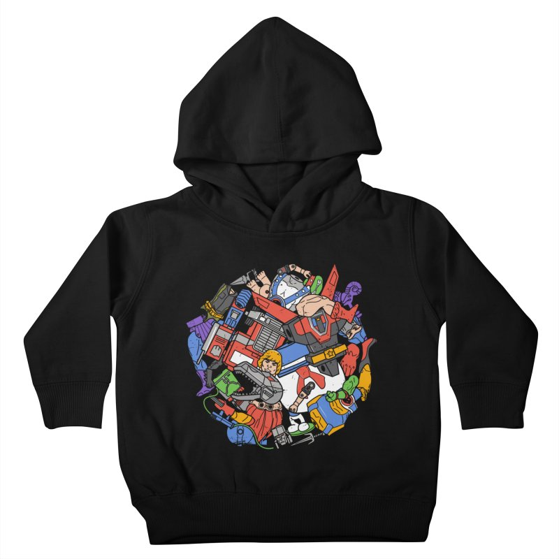 The Toy Box Kids Toddler Pullover Hoody by Daniel Stevens's Artist Shop