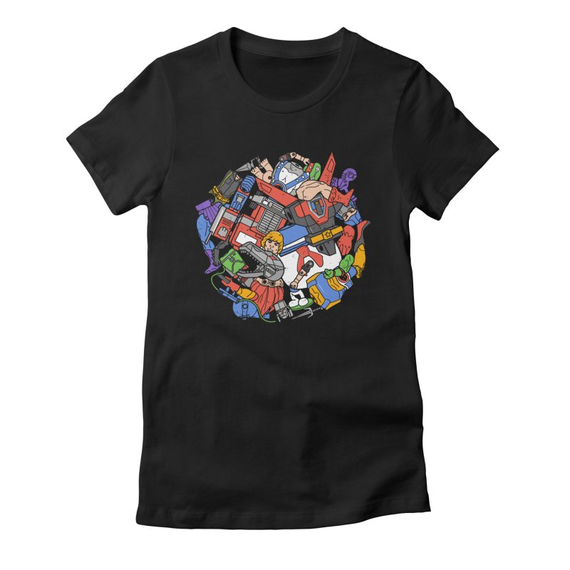 The Toy Box Women's T-Shirt by Daniel Stevens's Artist Shop