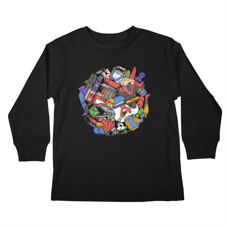 The Toy Box Kids Longsleeve T-Shirt by Daniel Stevens's Artist Shop