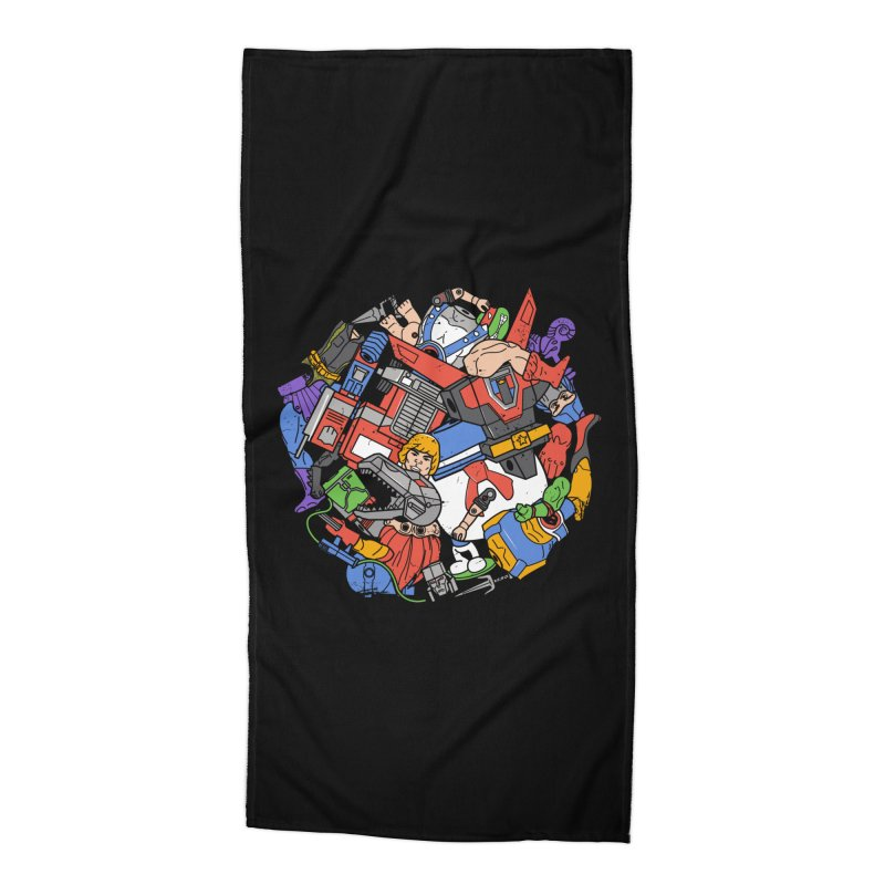 The Toy Box Accessories Beach Towel by Daniel Stevens's Artist Shop