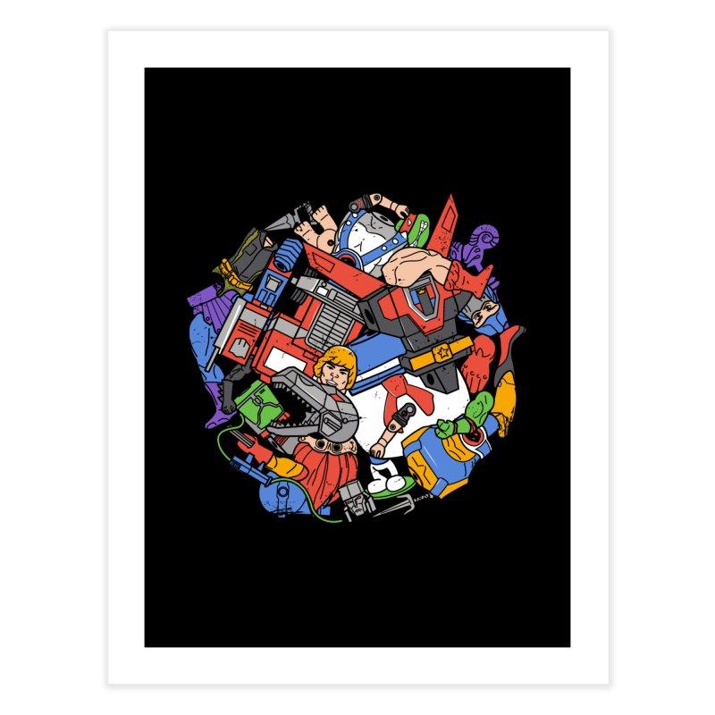 The Toy Box Home Fine Art Print by Daniel Stevens's Artist Shop