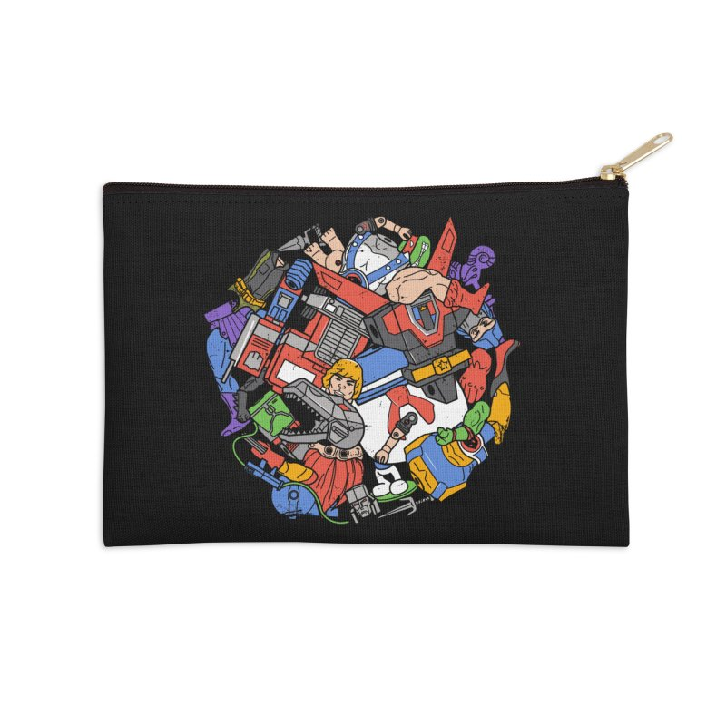 The Toy Box Accessories Zip Pouch by Daniel Stevens's Artist Shop