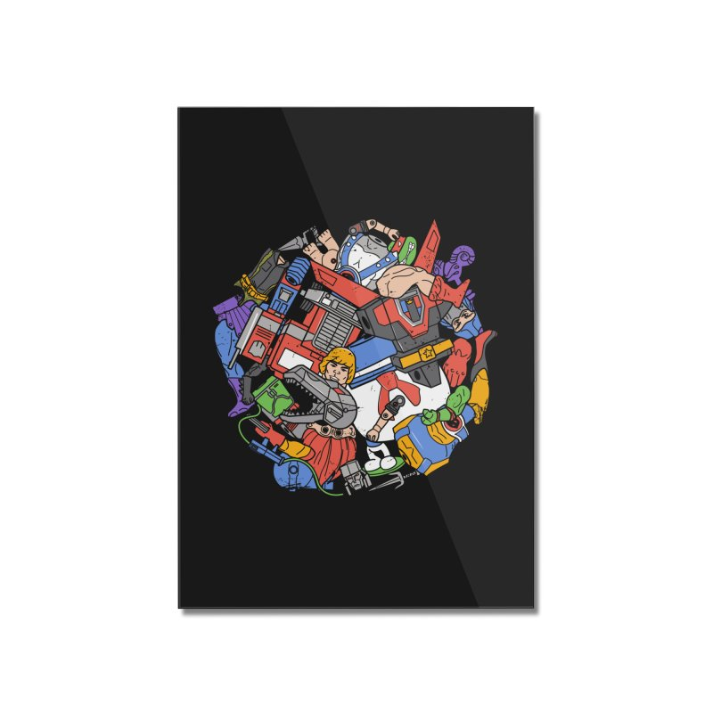 The Toy Box Home Mounted Acrylic Print by Daniel Stevens's Artist Shop