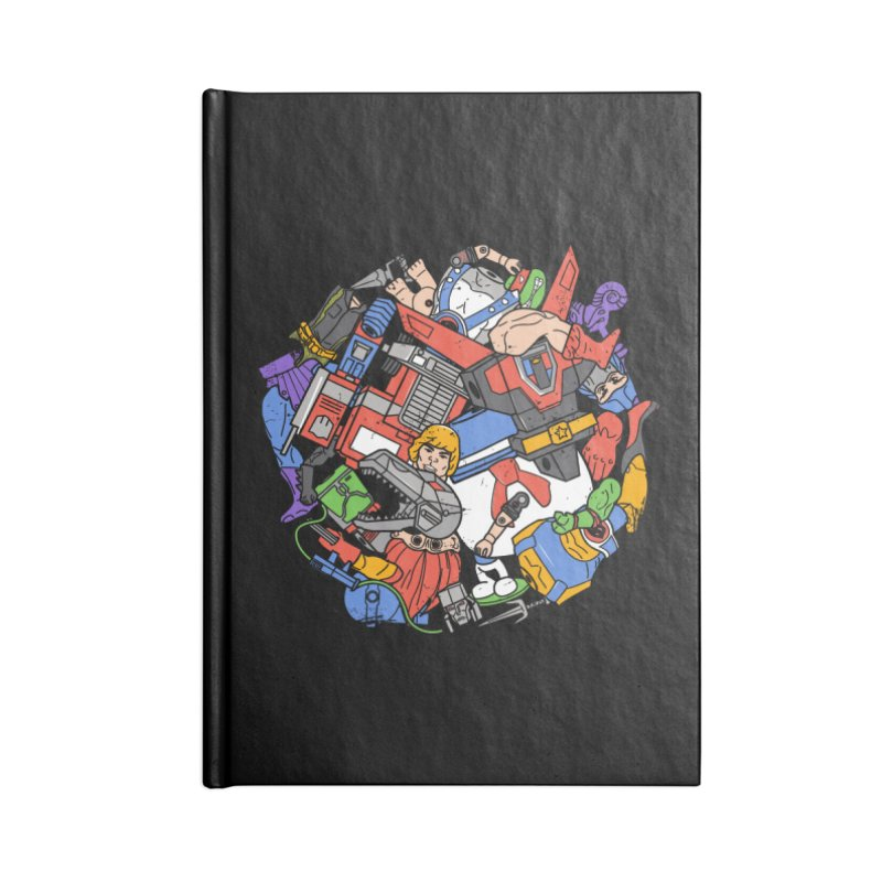 The Toy Box Accessories Lined Journal Notebook by Daniel Stevens's Artist Shop