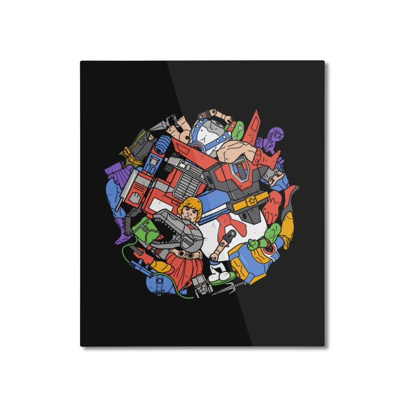 The Toy Box Home Mounted Aluminum Print by Daniel Stevens's Artist Shop