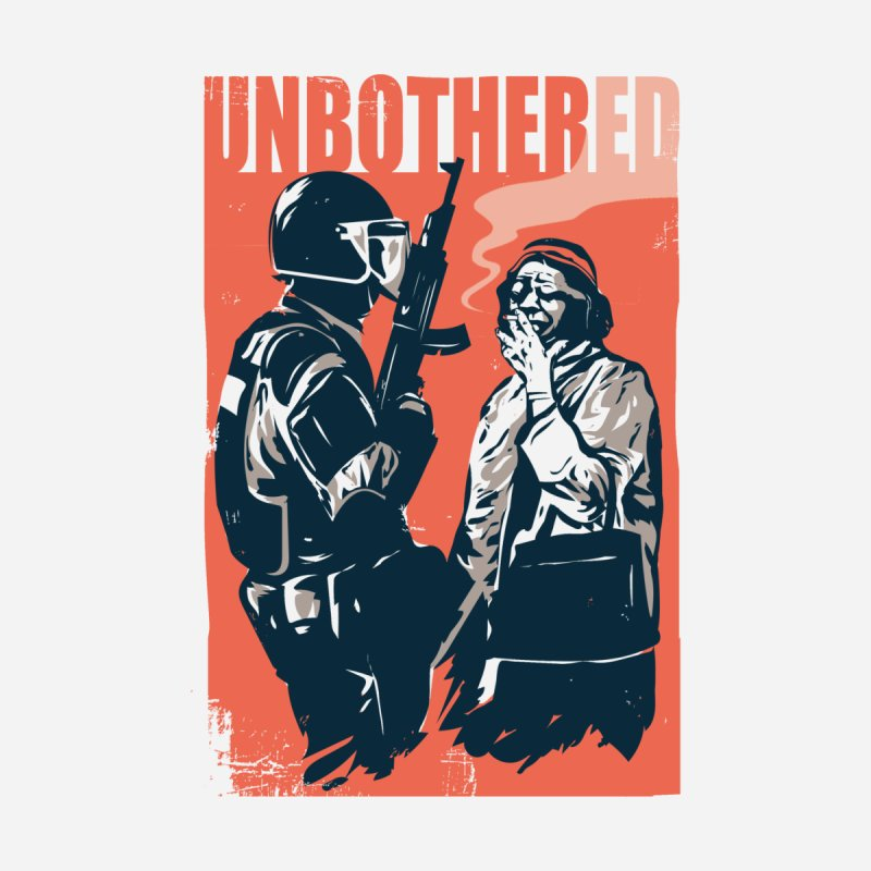 Unbothered Accessories Sticker by Daniel Stevens's Artist Shop