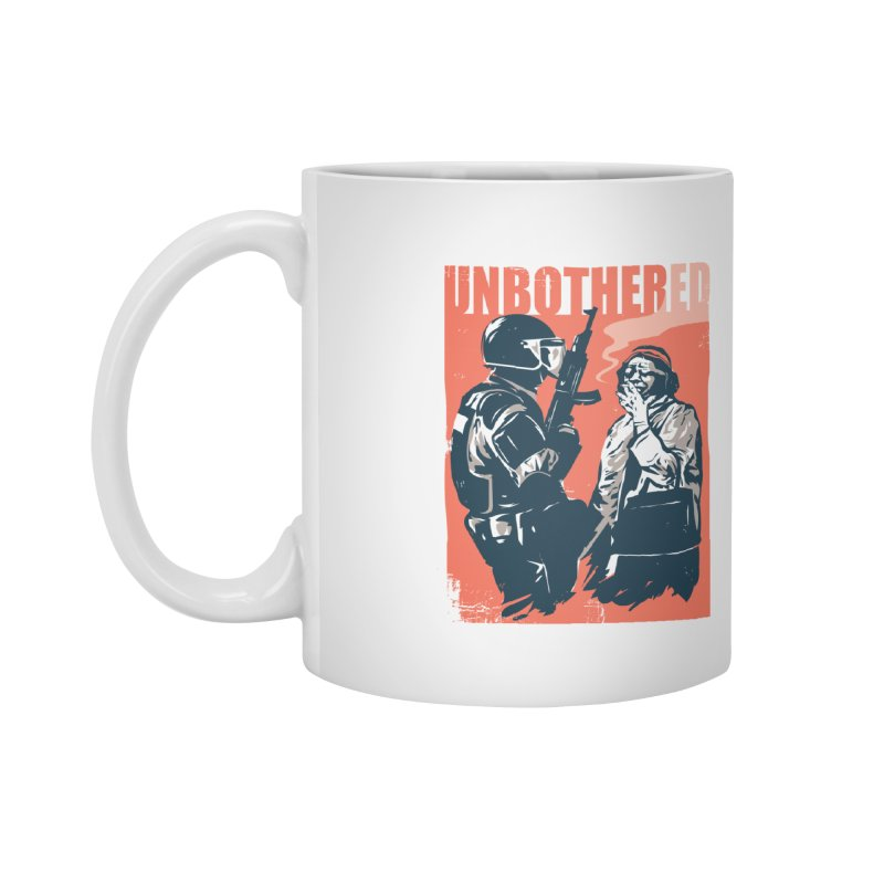 Unbothered Accessories Mug by Daniel Stevens's Artist Shop
