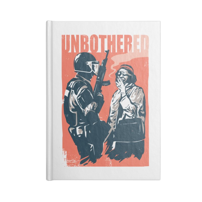 Unbothered Accessories Notebook by Daniel Stevens's Artist Shop