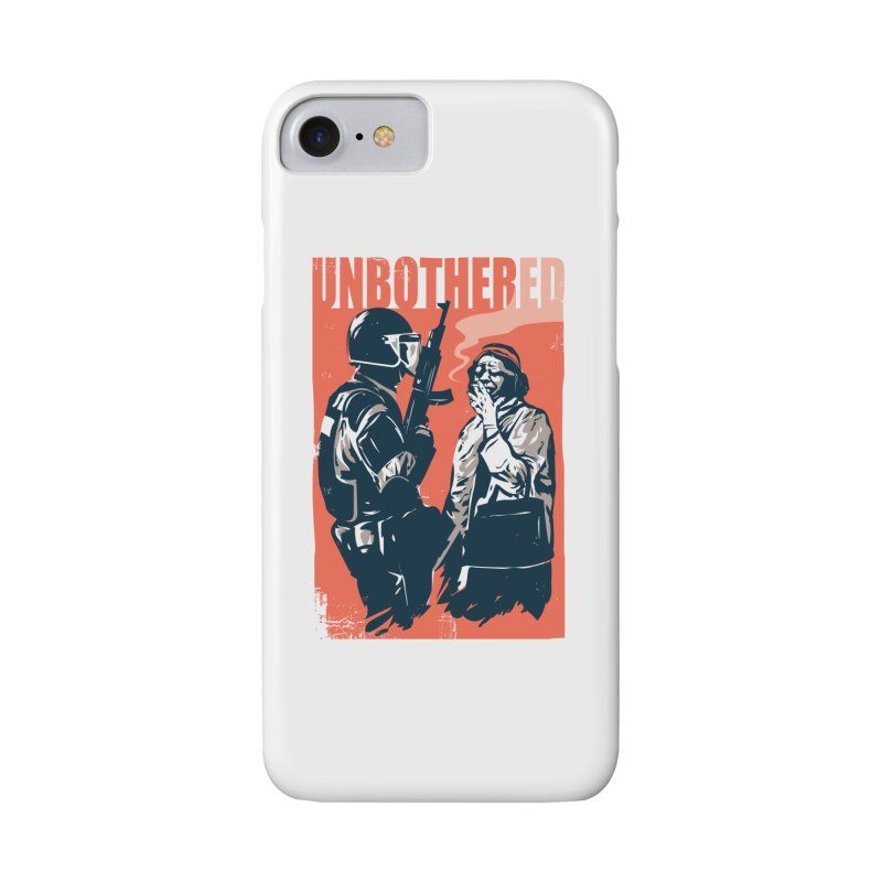 Unbothered Accessories Phone Case by Daniel Stevens's Artist Shop