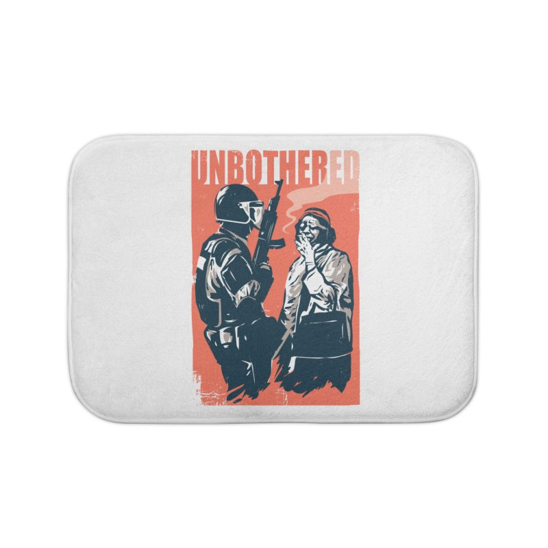 Unbothered Home Bath Mat by Daniel Stevens's Artist Shop