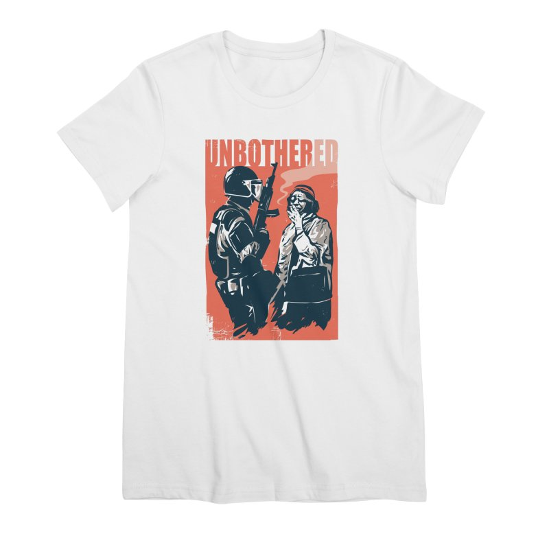 Unbothered Women's T-Shirt by Daniel Stevens's Artist Shop
