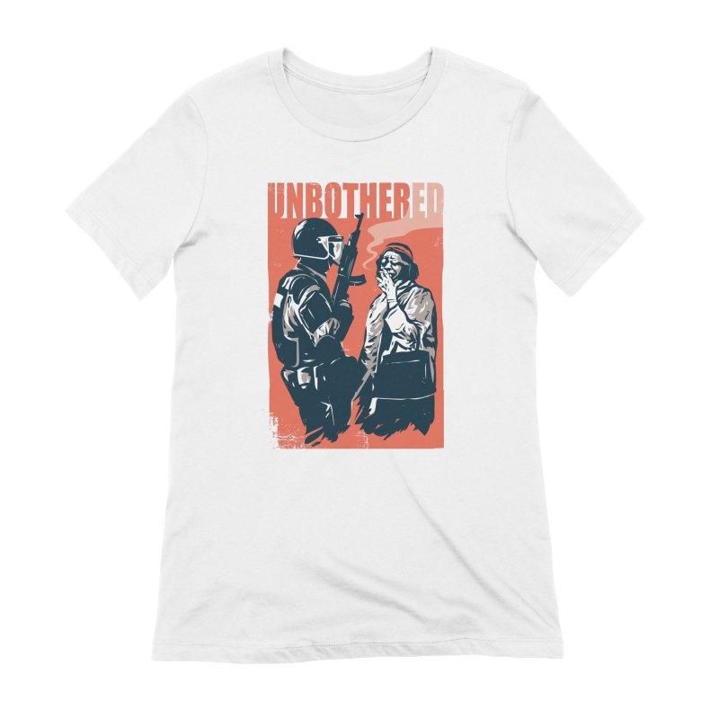 Unbothered Women's Extra Soft T-Shirt by danielstevens's Artist Shop