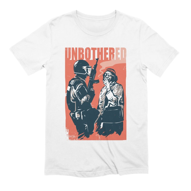 Unbothered Men's Extra Soft T-Shirt by Daniel Stevens's Artist Shop