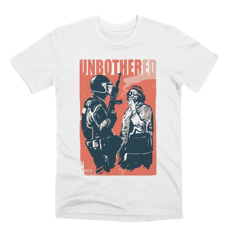 Unbothered Men's Premium T-Shirt by Daniel Stevens's Artist Shop