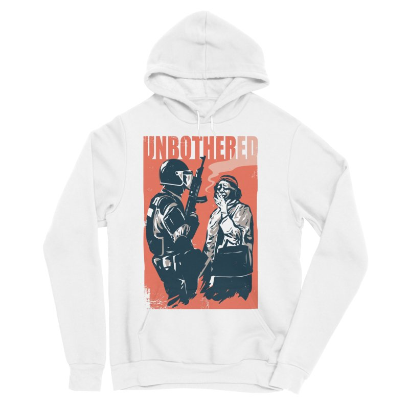 Unbothered Women's Sponge Fleece Pullover Hoody by Daniel Stevens's Artist Shop
