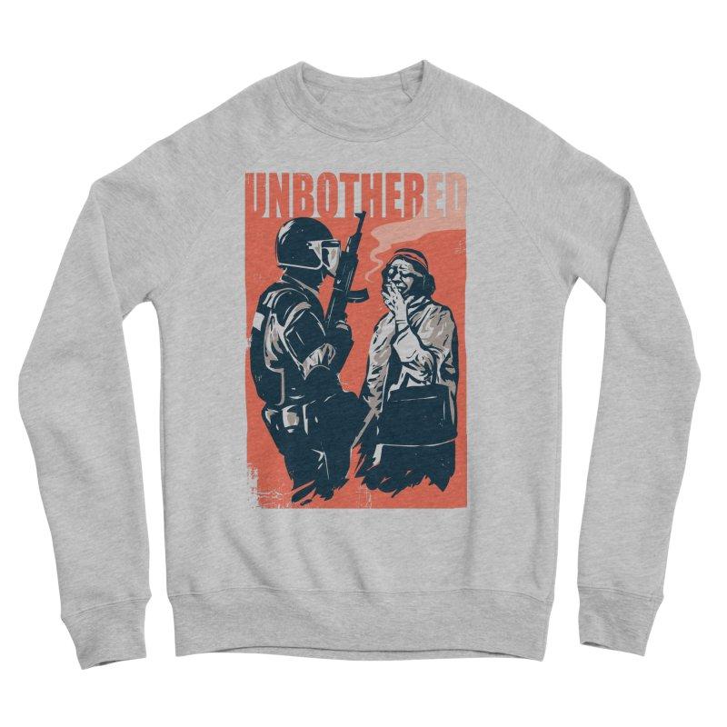 Unbothered Men's Sponge Fleece Sweatshirt by Daniel Stevens's Artist Shop