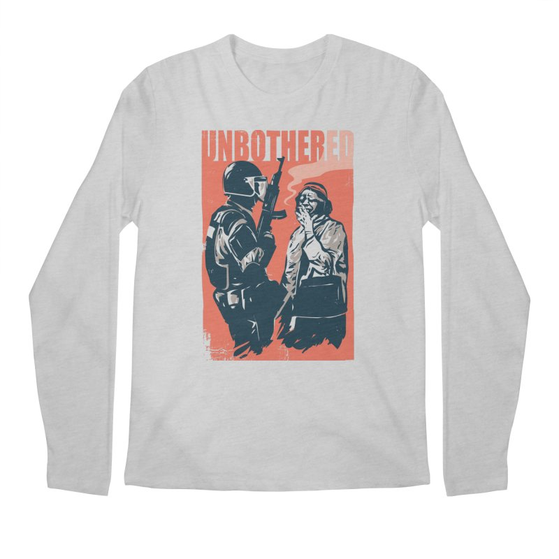 Unbothered Men's Longsleeve T-Shirt by Daniel Stevens's Artist Shop
