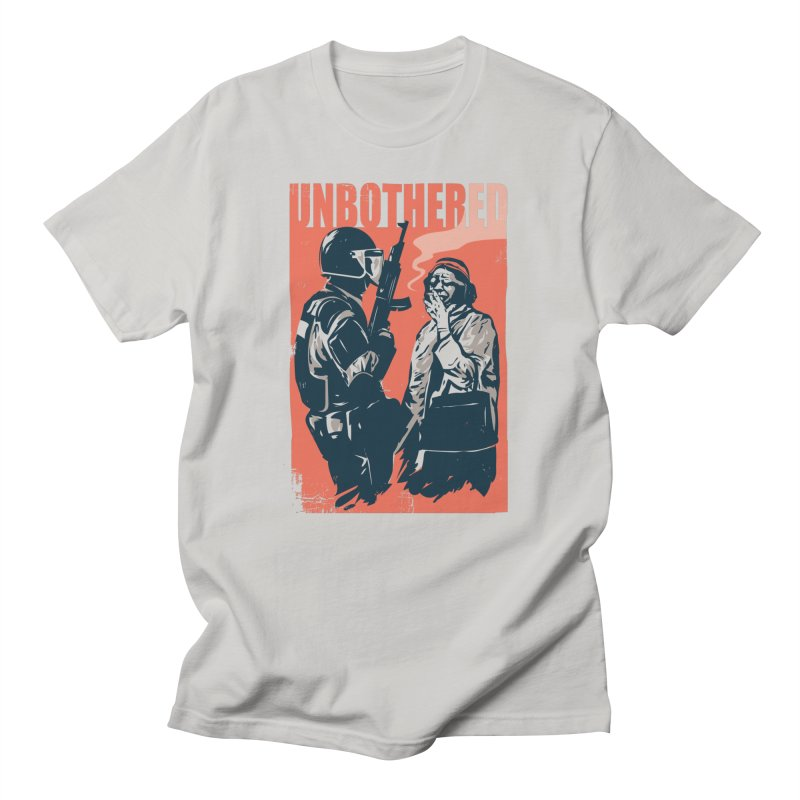 Unbothered Men's T-Shirt by Daniel Stevens's Artist Shop