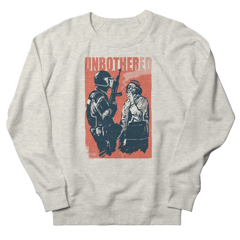 Unbothered Men's Sweatshirt by Daniel Stevens's Artist Shop