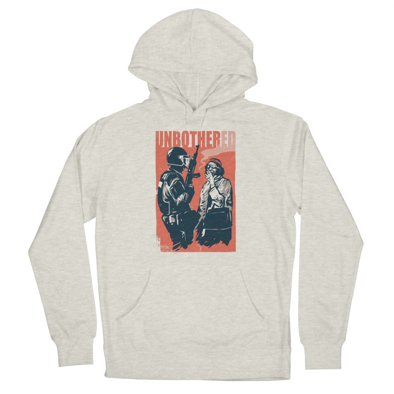 Unbothered Men's Pullover Hoody by Daniel Stevens's Artist Shop