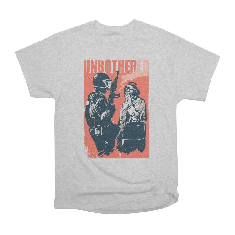Unbothered Men's Heavyweight T-Shirt by danielstevens's Artist Shop