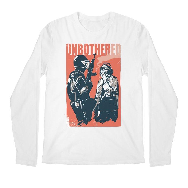 Unbothered Men's Regular Longsleeve T-Shirt by Daniel Stevens's Artist Shop
