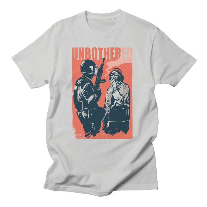 Unbothered Men's T-Shirt by Daniel Stevens's Artist Shop