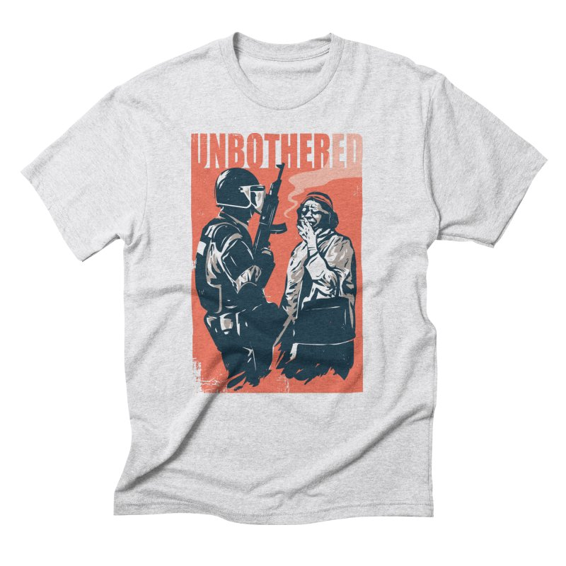 Unbothered Men's Triblend T-Shirt by danielstevens's Artist Shop