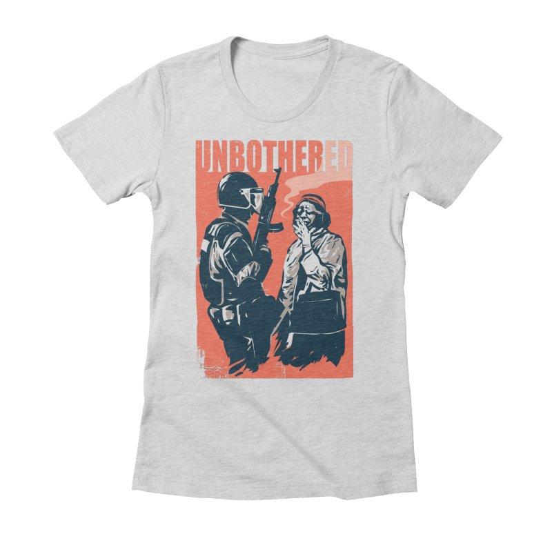 Unbothered Women's T-Shirt by Daniel Stevens's Artist Shop