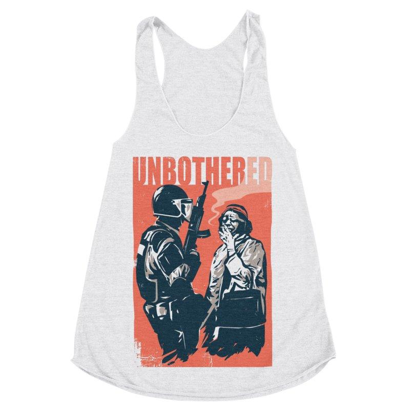 Unbothered Women's Tank by Daniel Stevens's Artist Shop