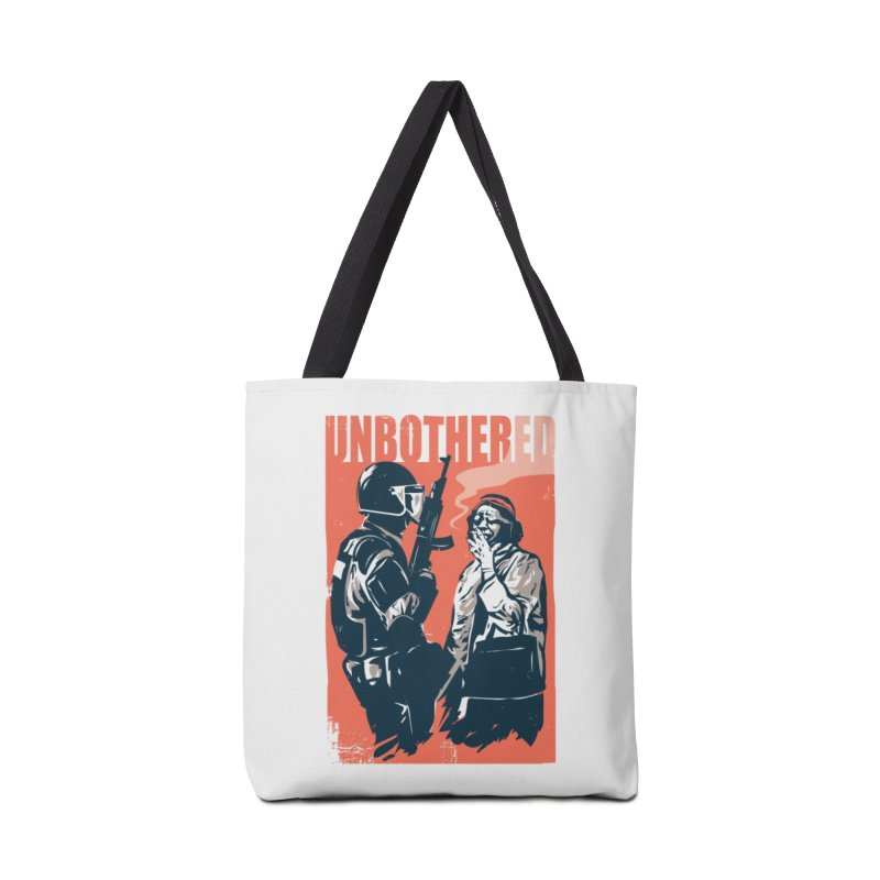 Unbothered Accessories Tote Bag Bag by Daniel Stevens's Artist Shop