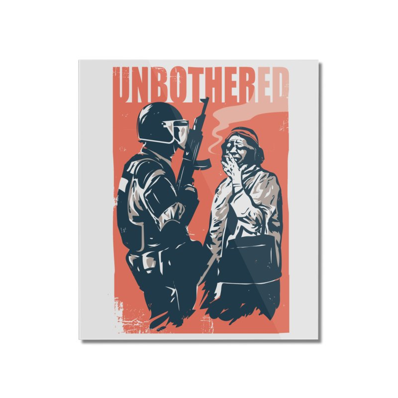 Unbothered Home Mounted Acrylic Print by Daniel Stevens's Artist Shop