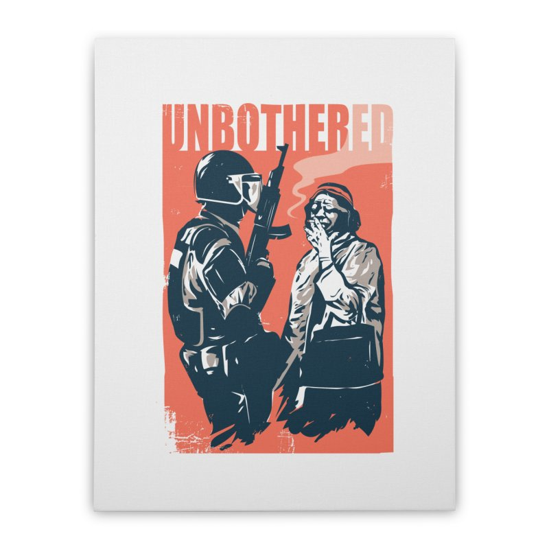 Unbothered Home Stretched Canvas by Daniel Stevens's Artist Shop
