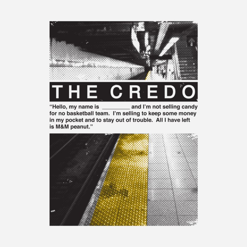 The Credo Women's T-Shirt by Daniel Stevens's Artist Shop