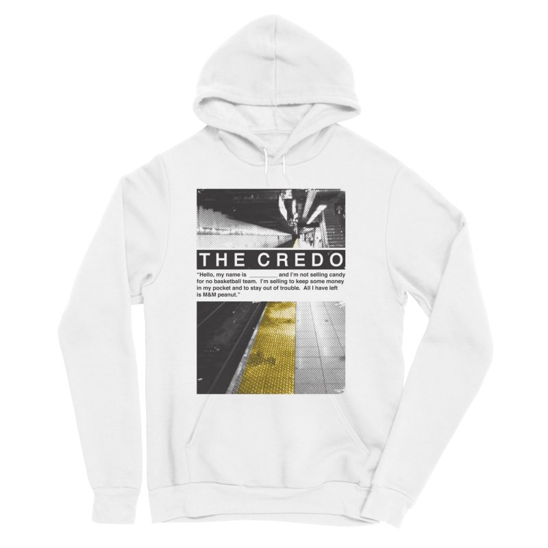 The Credo Men's Pullover Hoody by Daniel Stevens's Artist Shop