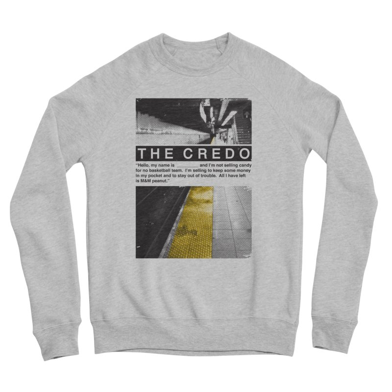 The Credo Men's Sweatshirt by Daniel Stevens's Artist Shop