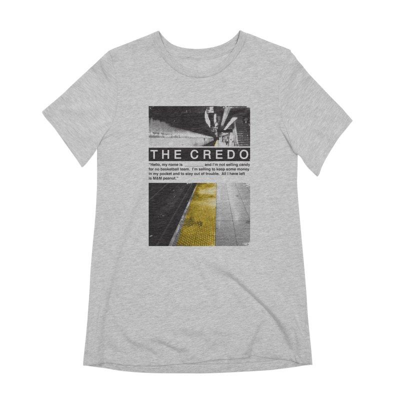 The Credo Women's Extra Soft T-Shirt by danielstevens's Artist Shop
