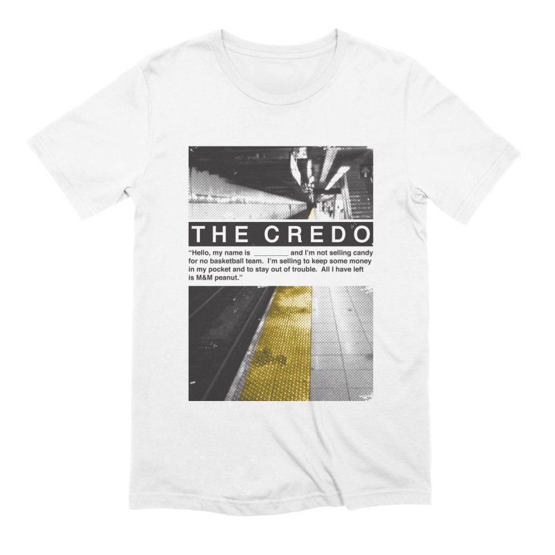 The Credo Men's Extra Soft T-Shirt by Daniel Stevens's Artist Shop