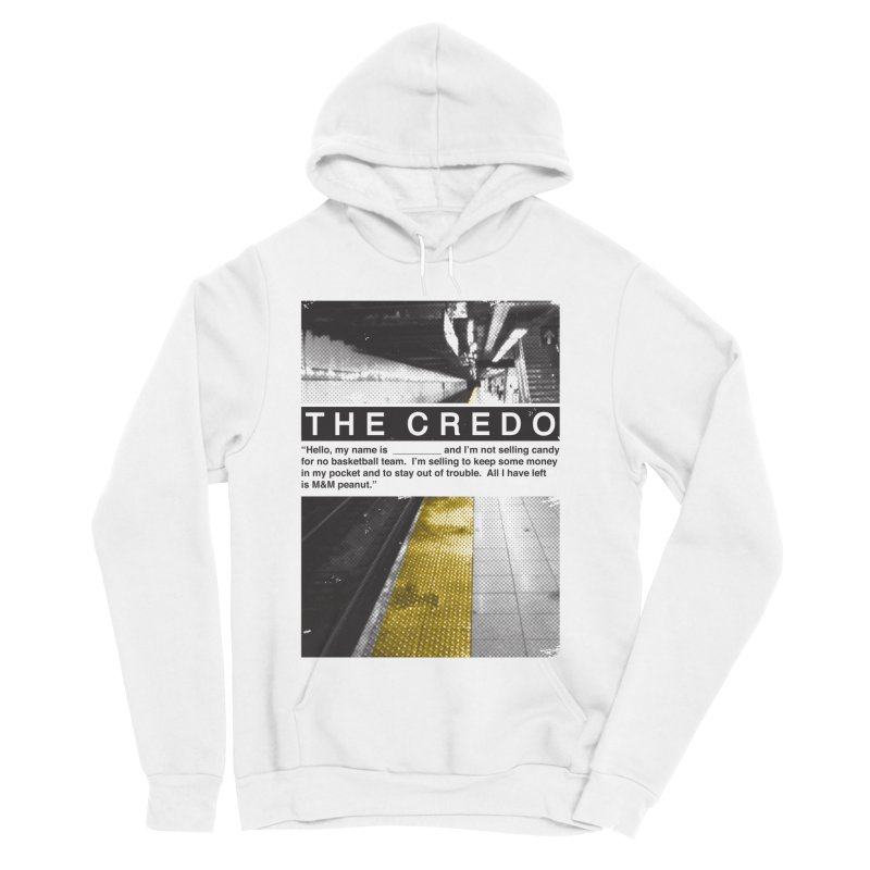 The Credo Women's Sponge Fleece Pullover Hoody by Daniel Stevens's Artist Shop