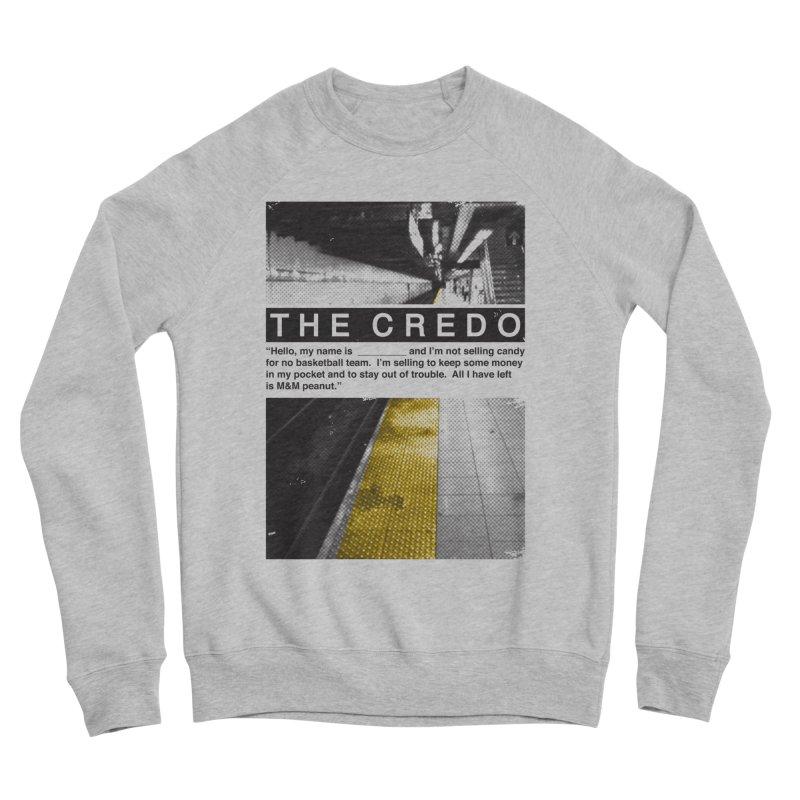 The Credo Women's Sponge Fleece Sweatshirt by Daniel Stevens's Artist Shop