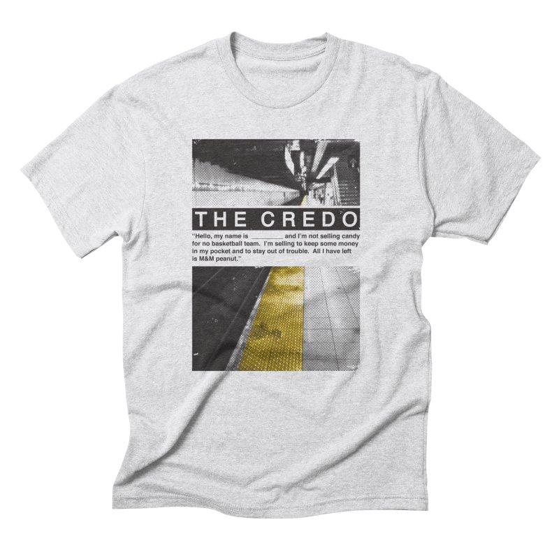 The Credo Men's T-Shirt by Daniel Stevens's Artist Shop