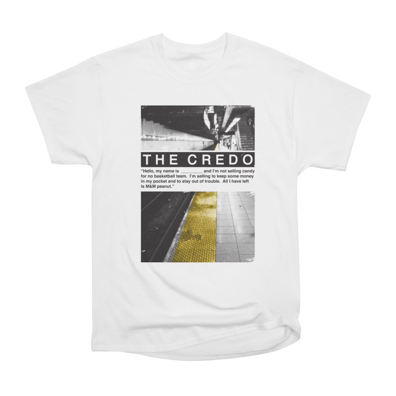 The Credo Men's T-Shirt by Daniel Stevens's Artist Shop
