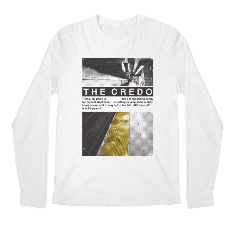The Credo Men's Regular Longsleeve T-Shirt by Daniel Stevens's Artist Shop