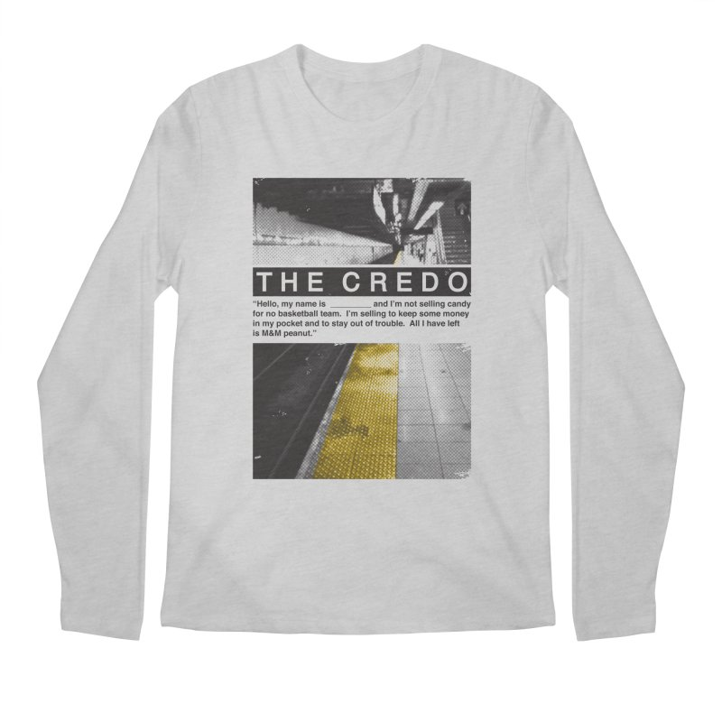 The Credo Men's Longsleeve T-Shirt by Daniel Stevens's Artist Shop