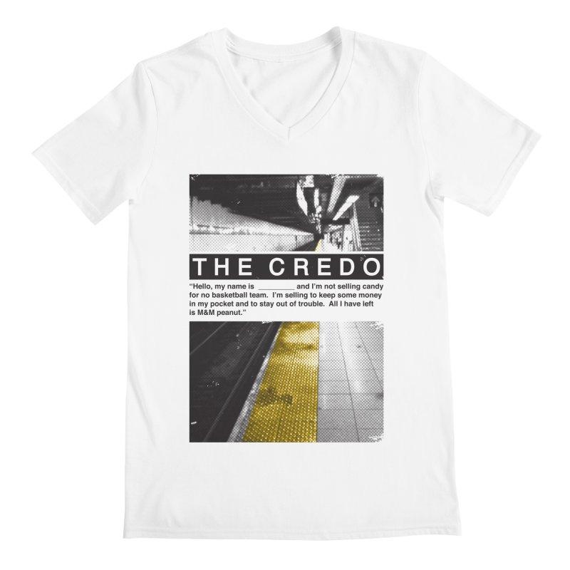 The Credo Men's V-Neck by Daniel Stevens's Artist Shop