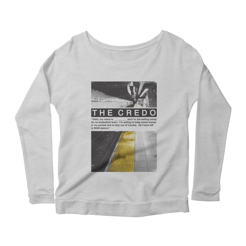 The Credo Women's Longsleeve T-Shirt by Daniel Stevens's Artist Shop