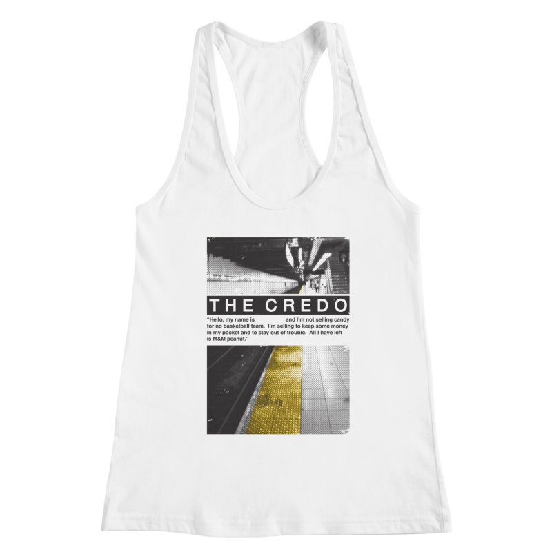 The Credo Women's Tank by Daniel Stevens's Artist Shop