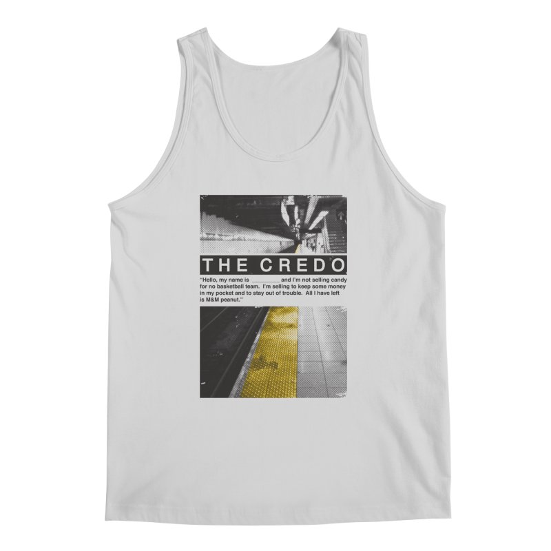 The Credo Men's Regular Tank by Daniel Stevens's Artist Shop